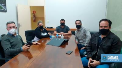 VEREADORES SE REÚNEM PARA ENTENDER PROJETO DO EXECUTIVO