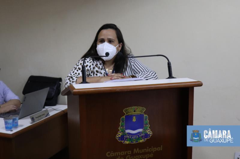 SECRETÁRIA DE DESENVOLVIMENTO SOCIAL FALA NA TRIBUNA